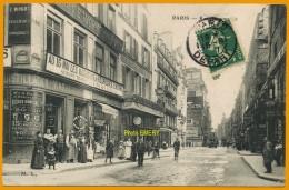 7502/104 Paris Rue Montmartre, Ecrite**** - Arrondissement: 02