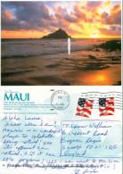 Alau Island, Maui, Hawaii, United States US Postcard Posted 2004 Stamp - Maui