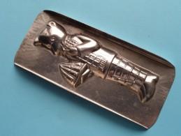 CHOCOLADEVORM / MOULE - CHOCOLAT MOLD Merk J.K.V. Tilburg N° 4296 ( Vintage / Zie Foto´s ) ! - Autres Collections