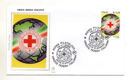 Italia - 2005 - Busta FDC - Croce Rossa Italiana - Con Doppio Annullo Filatelico Roma - (FDC792) - FDC