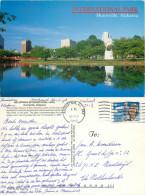 International Park, Huntsville, Alabama, United States US Postcard Posted 1998 Stamp - Huntsville