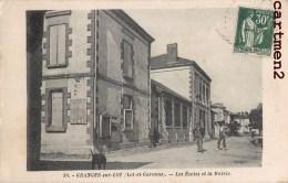 GRANGES-SUR-LOT LES ECOLES ET LA MAIRIE 47 LOT-ET-GARONNE - France
