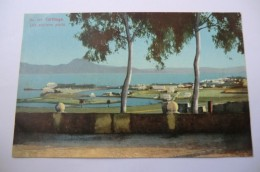 CPA TUNISIE TUNIS LEHNERT ET LANDROCK. Carthage Les Anciens Ports. - Tunisie