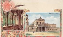 67Man  Italie Roma Precurseur Basilica E Chiostro Di S. Paolo - Non Classés