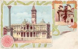 67Man  Italie Roma Precurseur Basilica Di S. Maria Maggiore E Templo Di Pallade Minerva - Non Classés