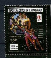 Rep. Madagascar**  N° 968 Or - J.O. D'Albertville (patinage) - Madagascar (1960-...)