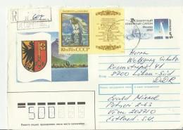 =UdSSR CV 1990 EST  NACH DDR - 1923-1991 UdSSR