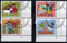 313 - SUISSE    Série Pro Juventute 1984  Personnages De Livres D'enfants - Schweiz