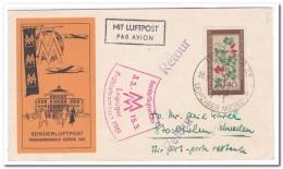 DDR 1961,  Air Mail, Letter To Sweden, Bromma ( Frühjahrsmesse Leipzig ) - [6] République Démocratique