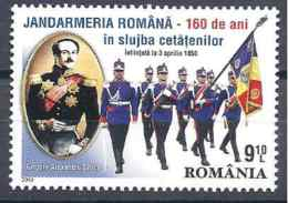 2010 ROUMANIE 5420** Gendarmerie, Drapeau - Nuovi