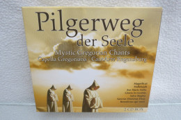 "2 CD Box ""Pilgerweg Der Seele"" Mystic Gregorian Chants, Capella Gregoriana, CantArte Regensburg - Religion & Gospel"