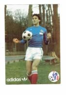 Cpm - Sport FOOTBALL - ERICK BATTISTON - Publicité ADIDAS - FFF - Joueur Ballon - Calcio