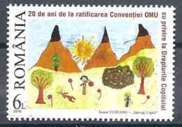 2010 ROUMANIE 5458** Dessin D'enfant - Nuovi