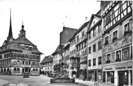 STEIN AM RHEIN → Viele Oldtimer Im Zentrum, Fotokarte Ca.1950 - SH Schaffhouse