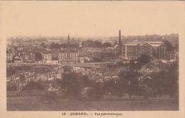 G , Cp , 91 , CORBEIL , Vue Panoramique - Corbeil Essonnes