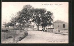 CPA Oudjda, Route Du Camp - Non Classés