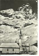 Cervinia Breuil (Aosta) Notre Dame Des Hermites, Church, Eglise, Chiesa E Panorama Invernale - Aosta