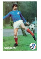 Cpm - Sport FOOTBALL - CHRISTIAN SYNAEGHEL - Publicité ADIDAS - FFF - Joueur Ballon - Calcio