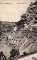 CPA ROCAMADOUR - LA ROUTE DE CAHORS - Rocamadour