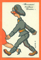 """P REMY - Militaria  """" Chasseurs Sachons Chasser """" Chasseur Alpin - FJC3 - Illustrators & Photographers"""