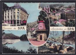 SOUVENIR DE SPA  Carte 5 Vues Moulin , ... - Seraing