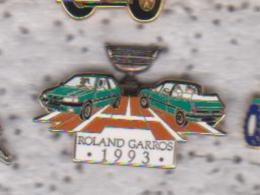 Pin's ROLAND GARROS PEUGEOT 1993 Signe ARTHUS BERTRAND - Tennis