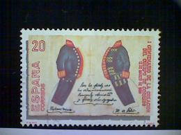 Spain, Scott #2595, Used (o), 1989, Postal Uniforms Of 1889, 20ptas, - 1931-Aujourd'hui: II. République - ....Juan Carlos I