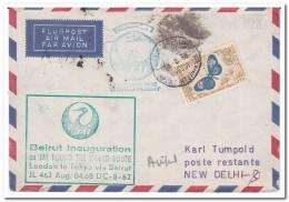 Libanon 1968, Flight Letter - Libanon