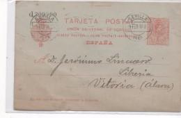 3070 Entero Postal  Sevilla 1918 ,nº 49 N Alfonso Xlll