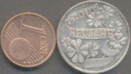 Austria  ICH BRING DIR GLUCK - PROSIT NEUJAHR ( Medal,  Jeton, Token ) - Autriche