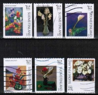 2009 Finland, Paintings, Complete Used Set.