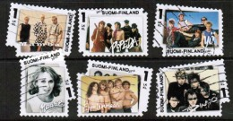 2010 Finland Rock And Pop, Complete Set Used.