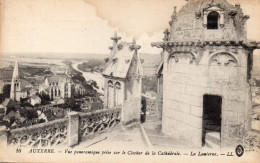 CPA AUXERRE - VUE PANORAMIQUE PRISE SUR LE CLOCHER DE LA CATHEDRALE - LA LANTERNE - Auxerre