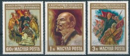 9866 Hungary History October Revolution Personality Lenin Full Set MNH