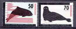 Pays-Bas 1985  Mi.nr: 1279-1280 Seltene Tiere  Oblitérés / Used / Gest. - 1980-... (Beatrix)