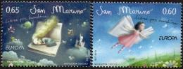CEPT / Europa 2010 Saint Marin N° 2226 Et 2227 ** Les Livres Pour Enfants - 2010