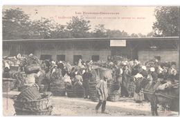 FR66 PERPIGNAN - Labouche 17 - Précurseur - Le Marché Aux Primeurs - Très Animée - Superbe - Markets