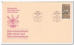 SWA Zuid West Afrika, FDC 1981, Gazella - Postzegels