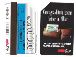 SCHEDA TELEFONICA USATA BILINGUE Compagna Di Tutti I Giorni AA30 -  AV1 - Italien