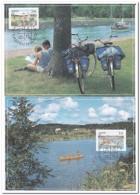 Aland 1991, Canoe, Bike - Transportmiddelen