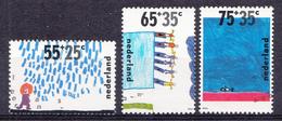 Pays-Bas 1988  Mi.nr: 1353-1355 Das Kind Und Das Wasser  Oblitérés / Used / Gest. - Gebruikt