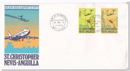 St. Christopher Nevis Anguilla 1974, Airplane - Anguilla (1968-...)
