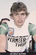 DE WOLF ALFONS (dil281) - Cyclisme