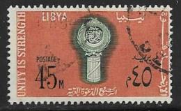 Libya, Scott # 333 Used Arab League Week,1968 - Libya