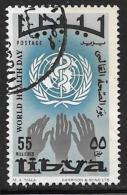 Libya, Scott # 337 Used WHO Anniv.,1968 - Libya