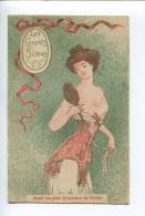 Femme Art Nouveau Corset Simon - Andere Illustrators