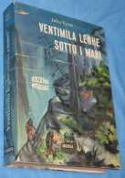 A367  VENTIMILA LEGHE SOTTO I MARI EDIZIONE INTEGRALE 1966 CARTONATO JULES VERNE LIBRO AVVENTURA ROMANZO - Libri, Riviste, Fumetti