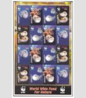 PALAU SHEET MARINE LIFE WWF - W.W.F.