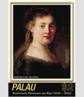 PALAU SHEET REMBRANDT ART PAINTINGS