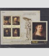 PALAU 2 SHEETS REMBRANDT ART PAINTINGS - Rembrandt